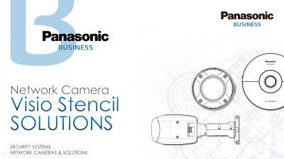 Network Camera Visio Stencil Solutions PPT | Panasonic Business