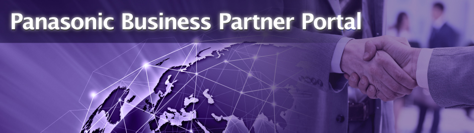 Panasonic Business Partner Portal